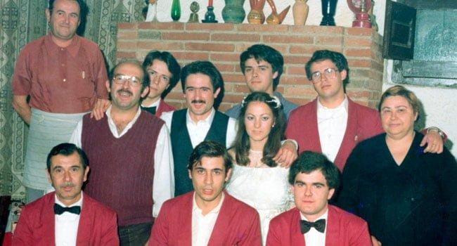 Restaurant sant Antoni equip anys 80