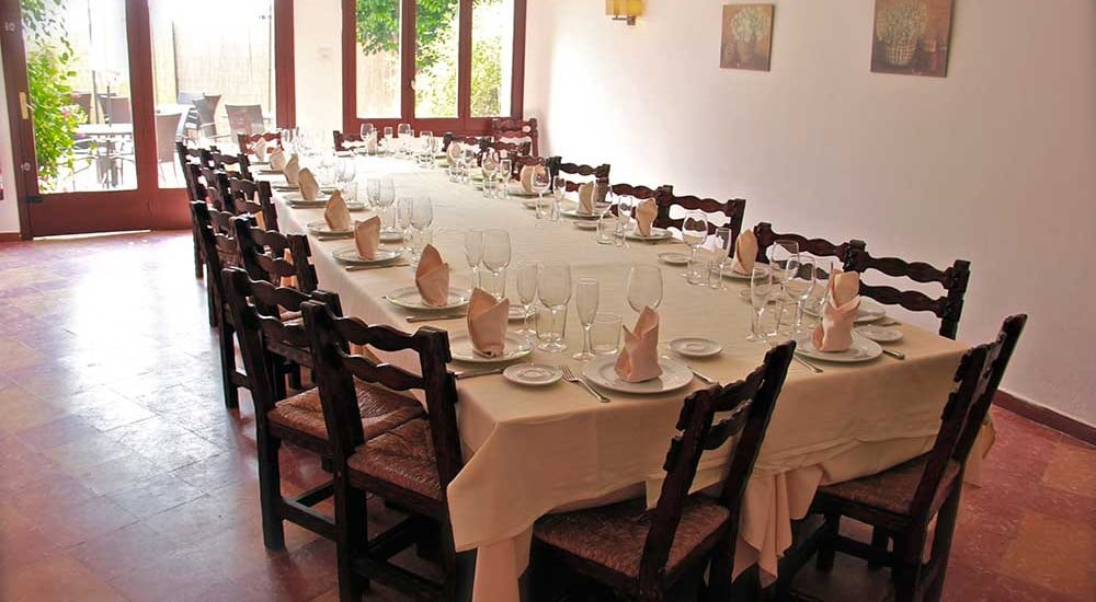 taula per-a-grups-Restaurant-Sant-Antoni-Premià-de-Dalt-Mar-Maresme-Barcelona