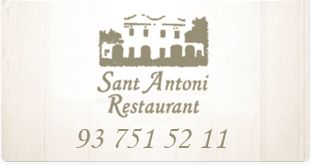 Restaurant Sant Antoni Barcelona Premià Maresme