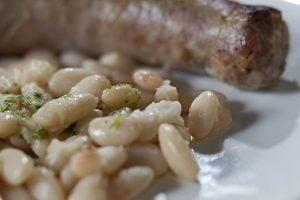 Butifarra con secas menú del dia Restaurant Sant Antoni de Premià de Dalt