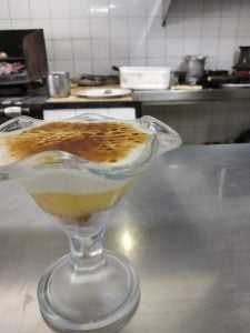 Lemon pie  menú diari Restaurant Sant Antoni  Premià de Dalt